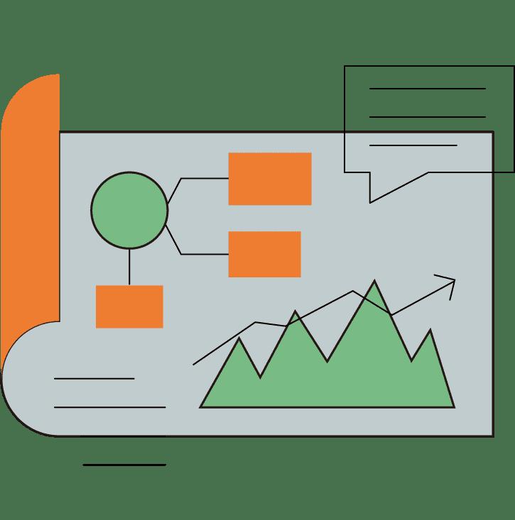 データ表のイラスト